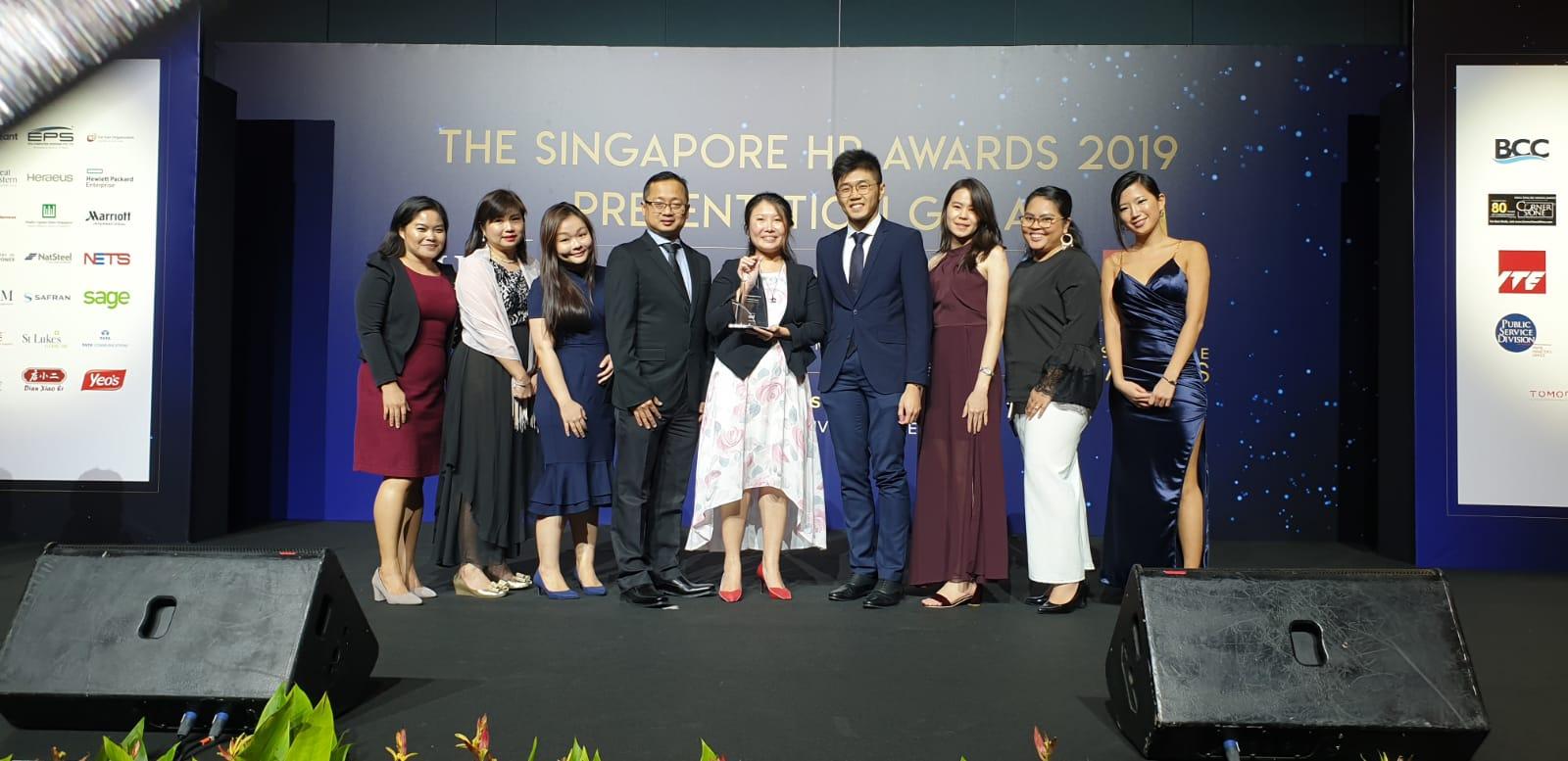 写真:シンガポールHRアワード2019
